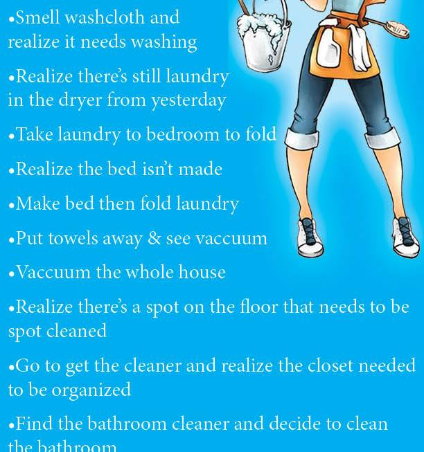 An A.D.D. Cleaning Day