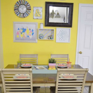 Dining Room Makeover with Frog Tape