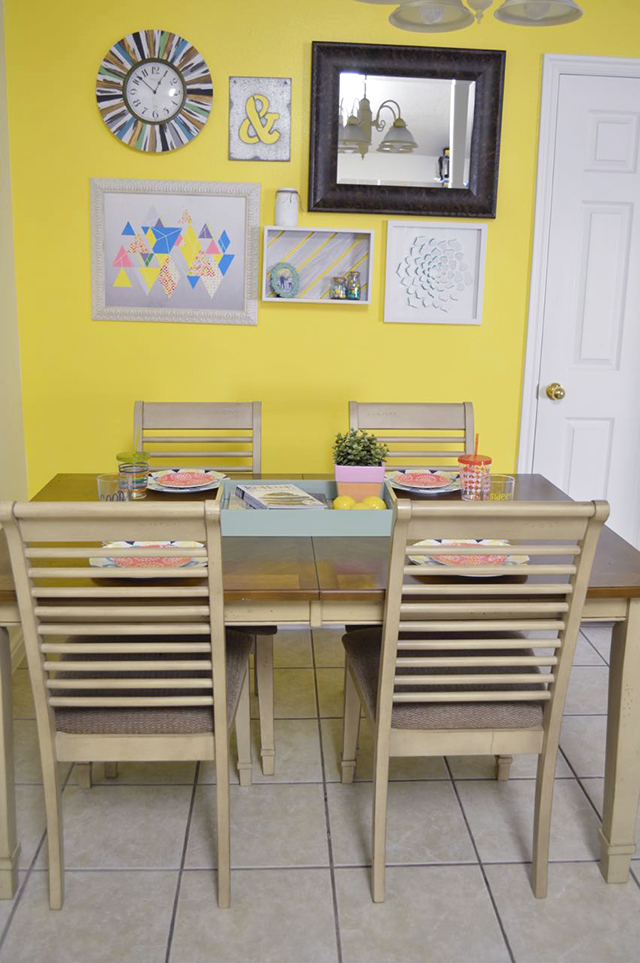 New Dining Room Paint and Decor