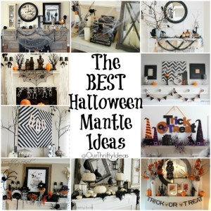 The BEST Halloween Mantle Ideas