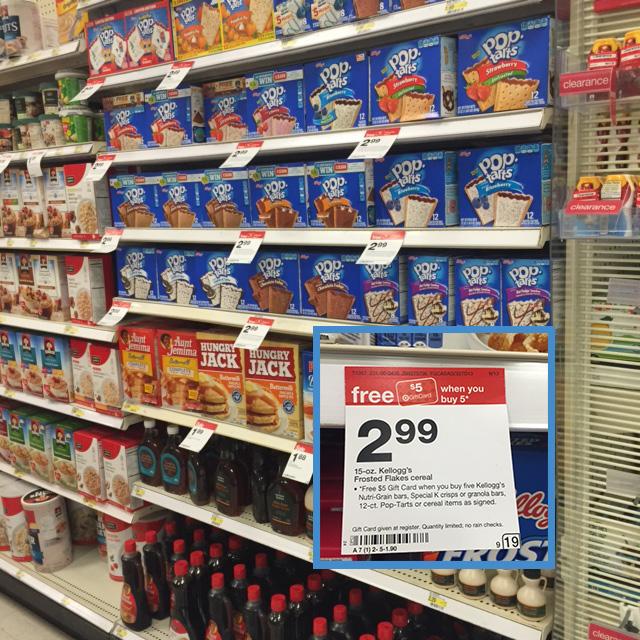 poptarts at Target