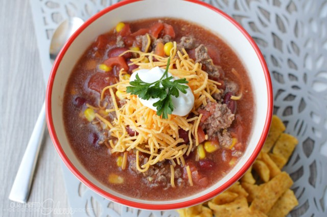 5-can taco soup