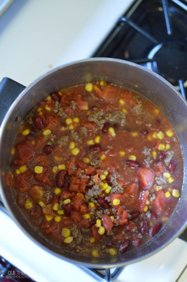 Taco soup in 10 minutes