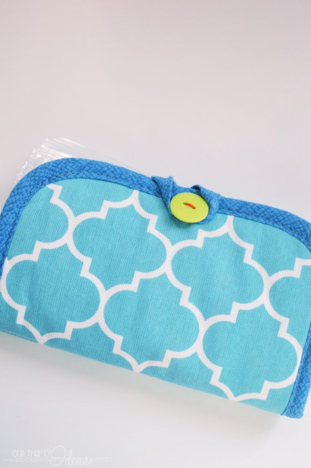 create a purse essentials wallet using a hotpad
