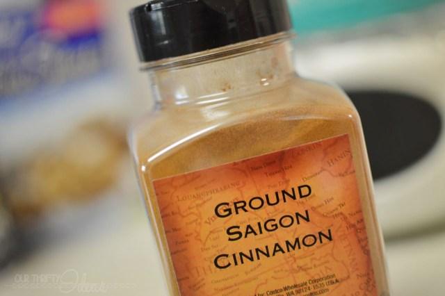 Saigon Cinnamon for baking