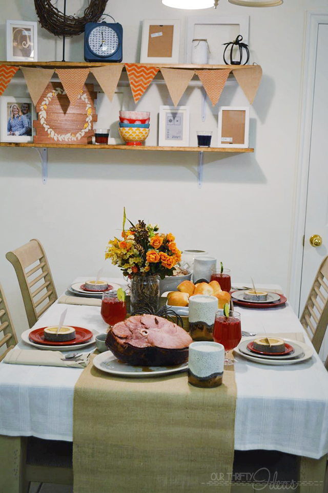 Thanksgiving holiday tablescape copy