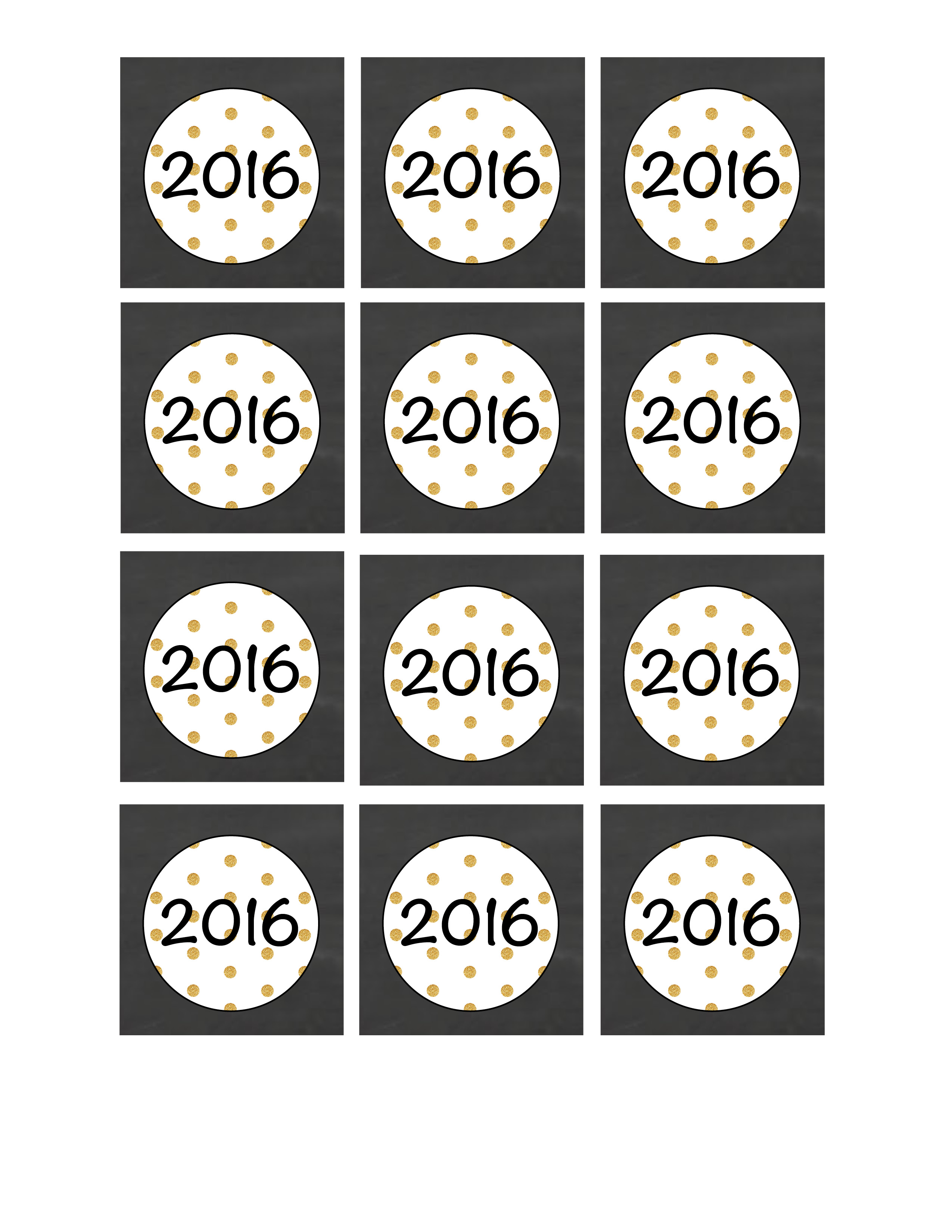 New Years Party Printable Pack
