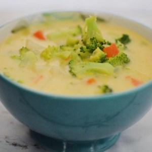 Broccoli Cheesy Potato Soup