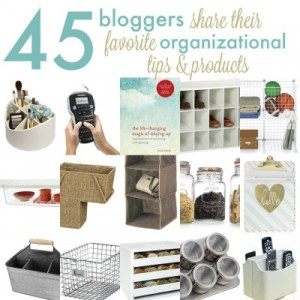 Bloggers Favorite Organizational Products