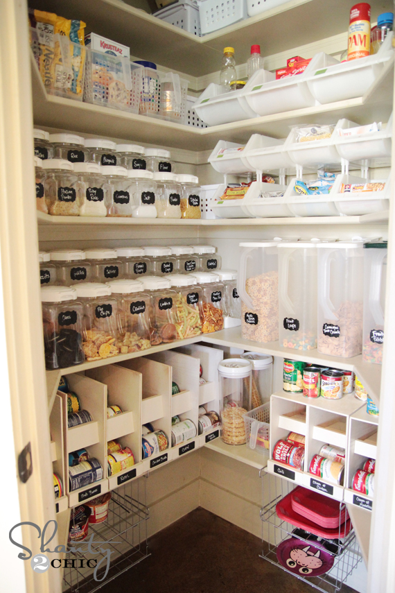 Organized Shanty 2 Chic pantry