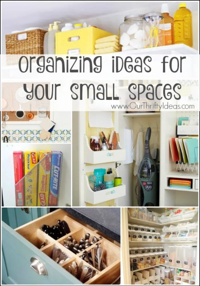 these organization ideas are so clever. Most of them I never would have thought of on my own. I'm doing #9 for sure.