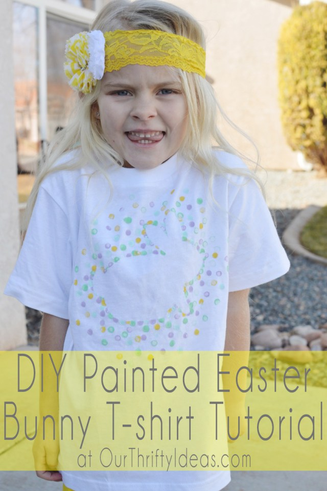 DIY Painted T-shirt Tutorial