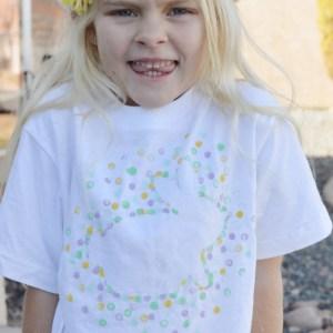 DIY Painted T-shirt Tutorial