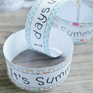 Countdown Chain for Summer Break- Free Printable File