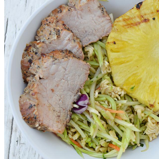 Peppercorn Garlic Pork Tenderloin – Grilling recipe