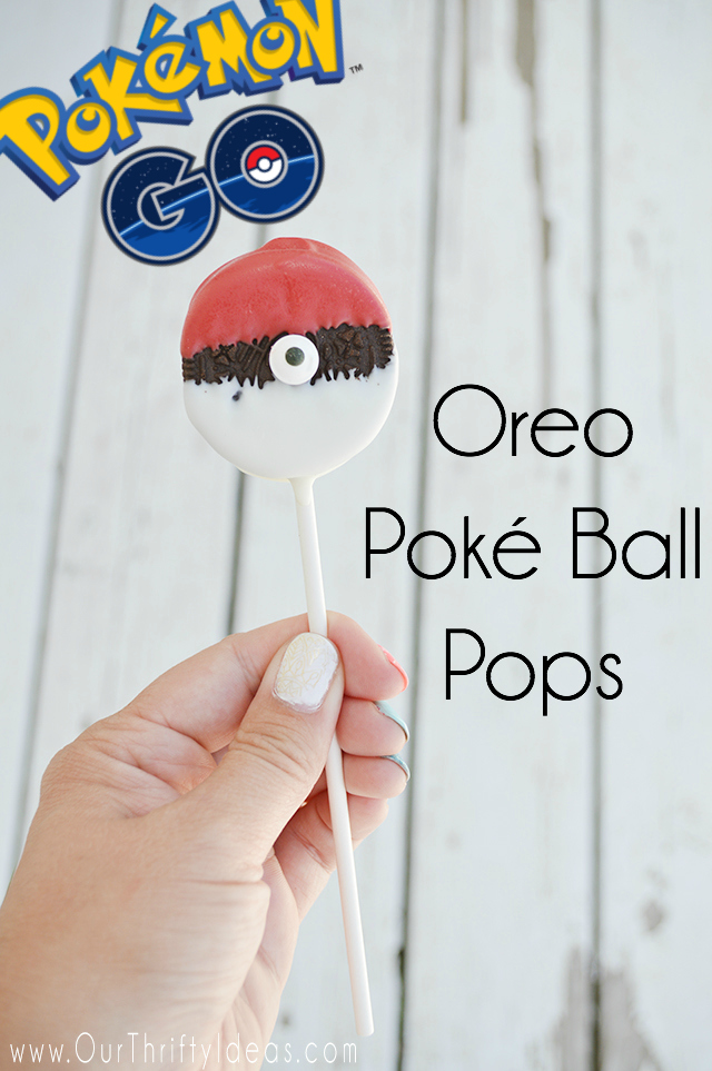 Create Oreo Poké Ball Pops that will have every Pokemon Lover excited!