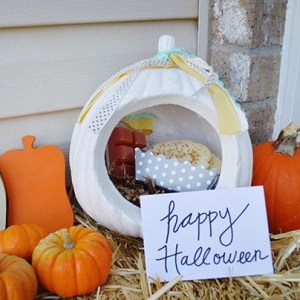 Porch Gift Drop – Fall and Halloween Ideas