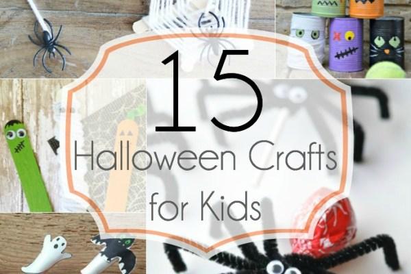 The Best Kids Halloween Crafts