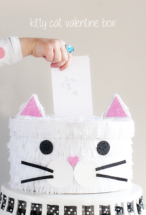 Kitty Cat Valentine Box