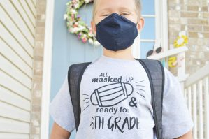 All masked up back to school shirt