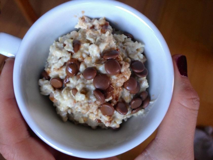 Peanut Butter Chocolate Chip Oats