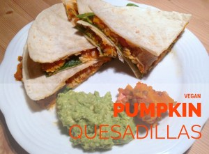 Pumpkin Quesadillas