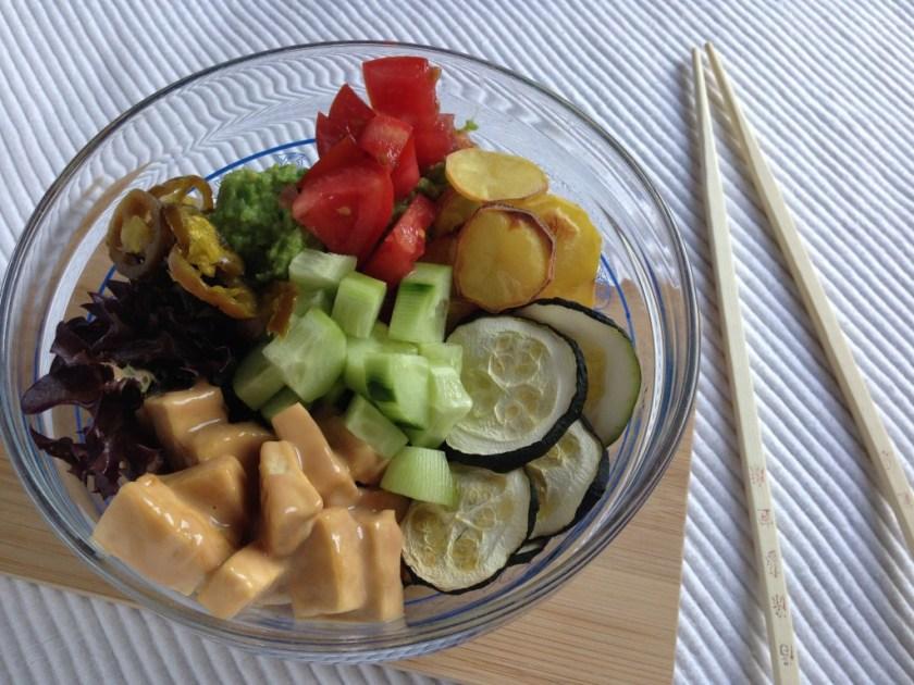 Peanut Tofu & Veggie Bliss Bowl