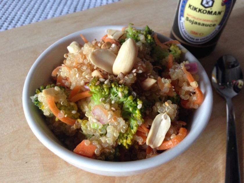 Thai Veggie Quinoa Bowl