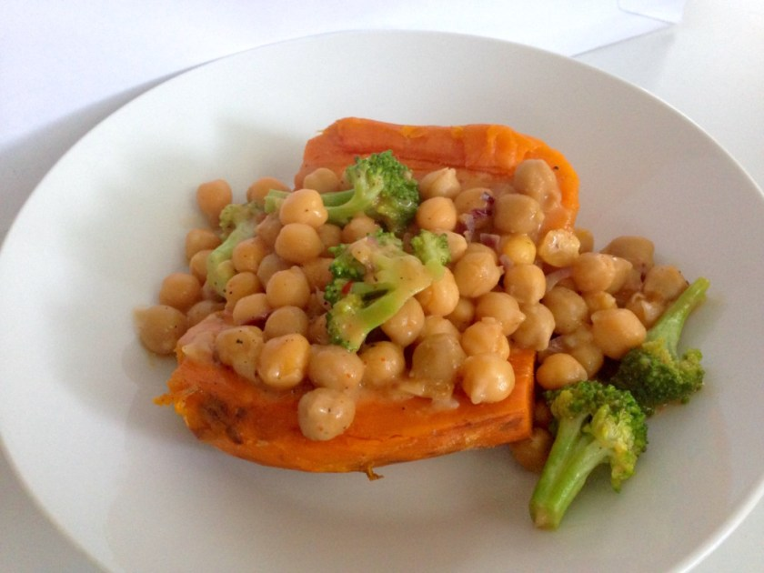 Spicy Marinated Chickpeas