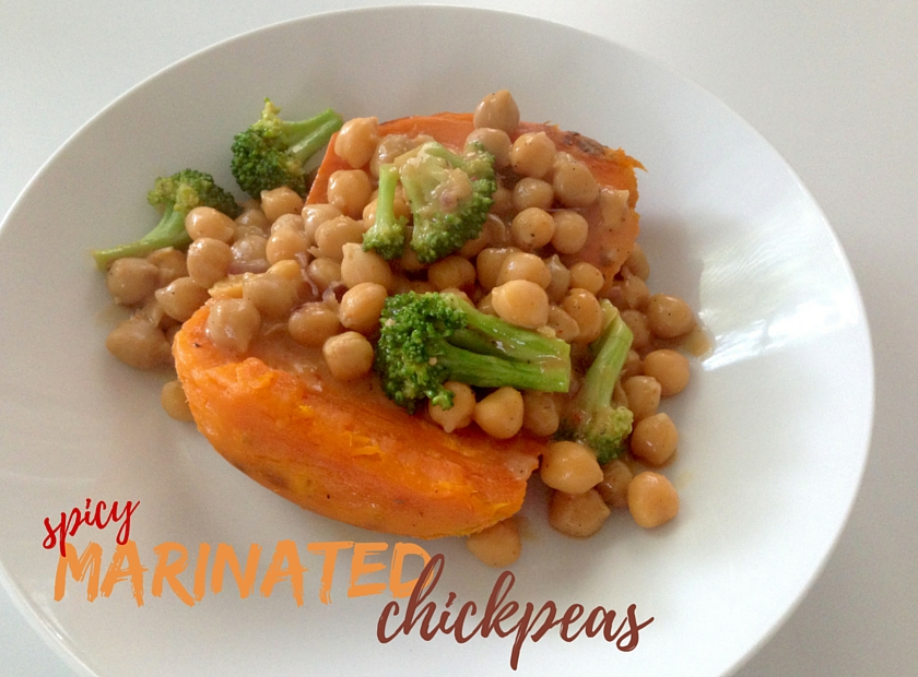Spicy Marinated Chickpeas-1