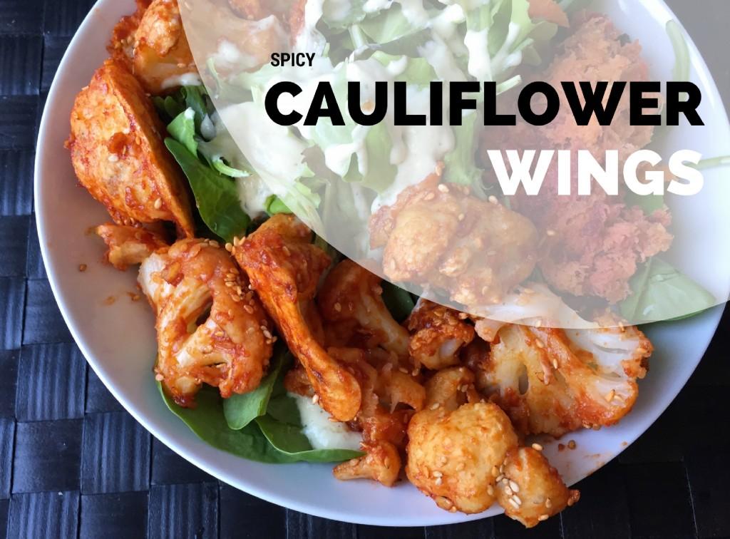Spicy Cauliflower Wings