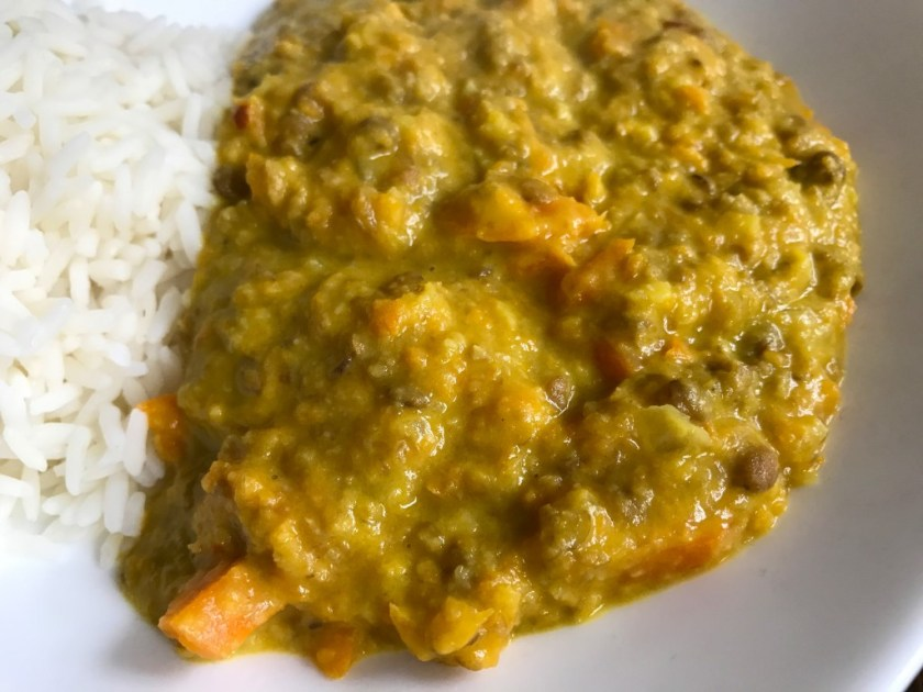 Turmeric Lentil Curry