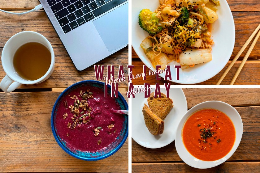 What I eat in a day in lockdown - vegan