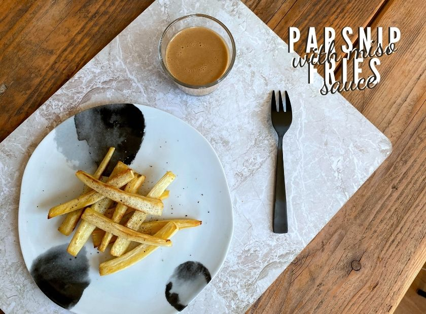 Parsnip Fries with Miso Sauce-2