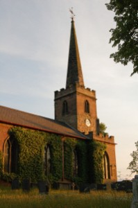 St. Giles Church, Whittington, exterior view