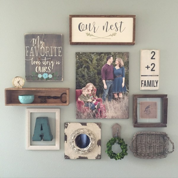 Create Perfect Wall - Vintage Nest