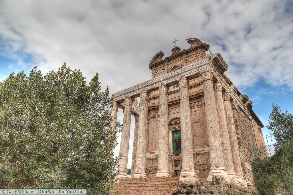 Antoninus and Faustina Temple, Rome, Italy