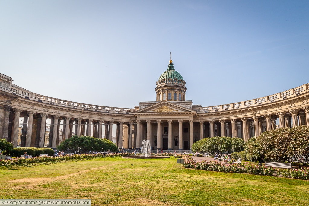 Kazan Cathedral, (Cathedral of Our Lady of Kazan), St Petersburg, Russia