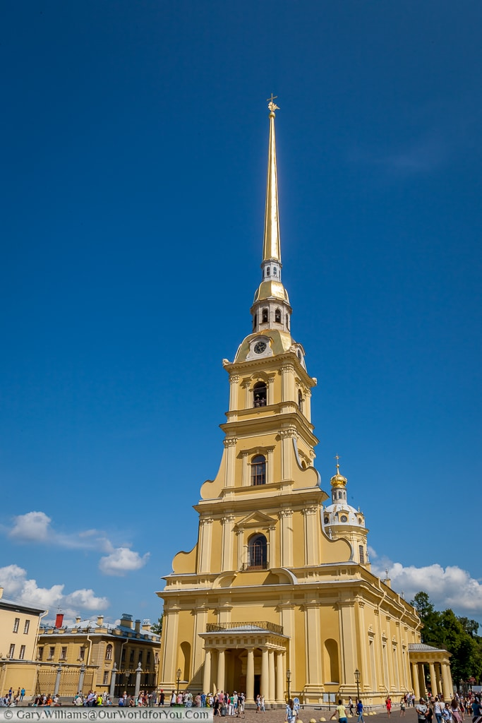 Saints Peter and Paul Cathedral, St Petersburg, Russia