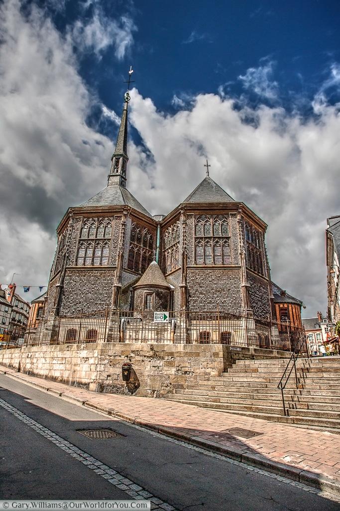 The Church of Saint Catherine, Honfleur, France