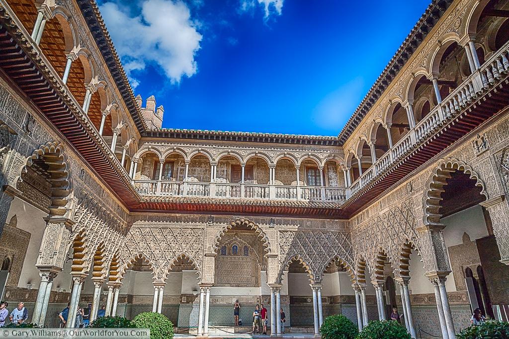 The Alcázar, Seville, Spain