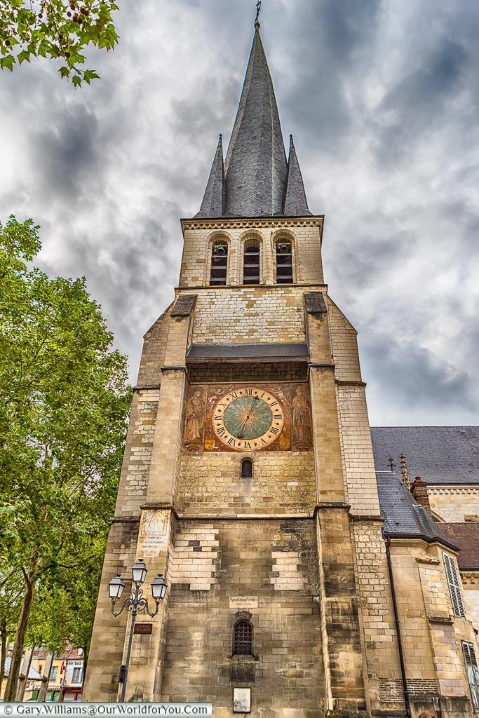Eglise Saint Rémy, Troyes, Champagne, Grand Est, France