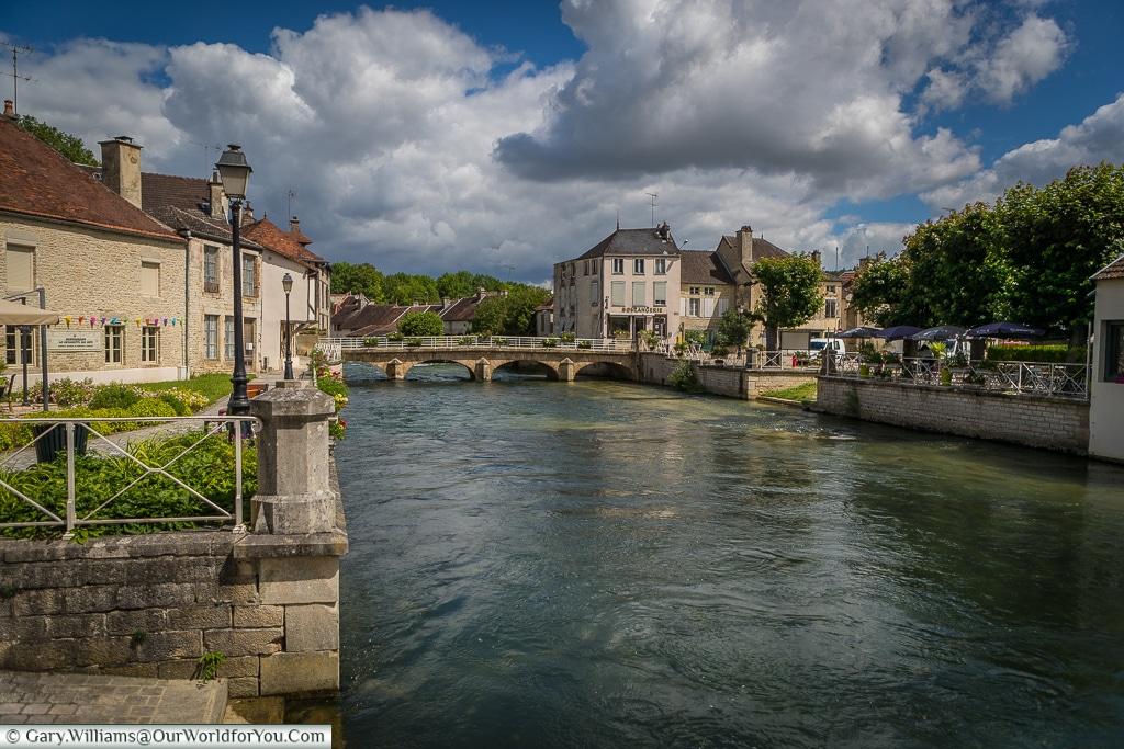 The road bridge, Essoyes, France