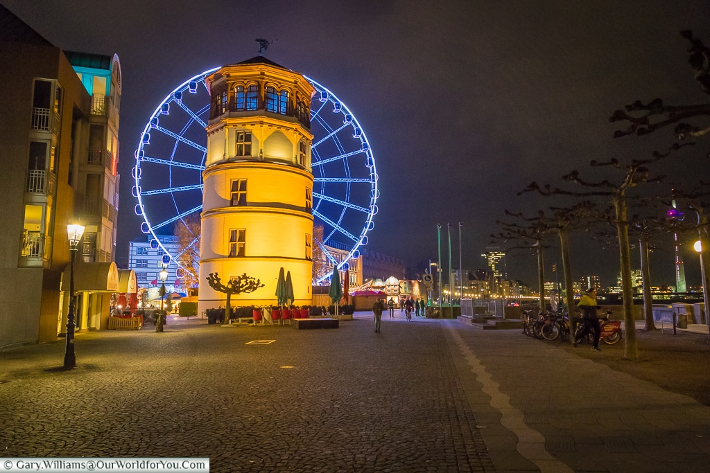 The Schifffahrt Museum and Wheel of Vision, Düsseldorf, Germany