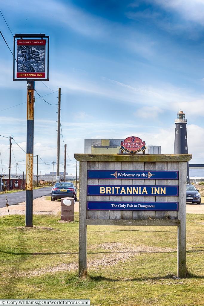 The Britannia Inn, Dungeness, Kent, UK