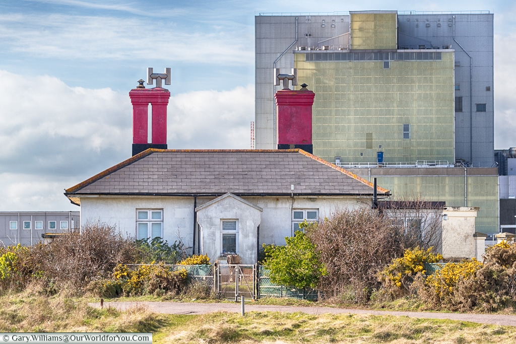 The power station, Dungeness, Kent, UK