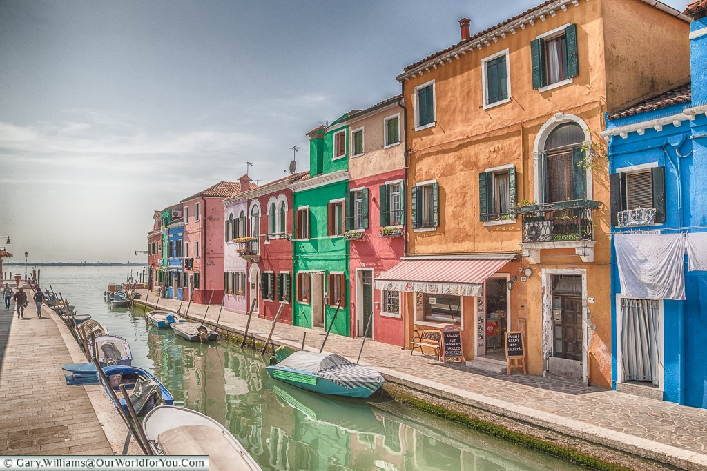 A view to the lagoon, Burano, Venice, Italy
