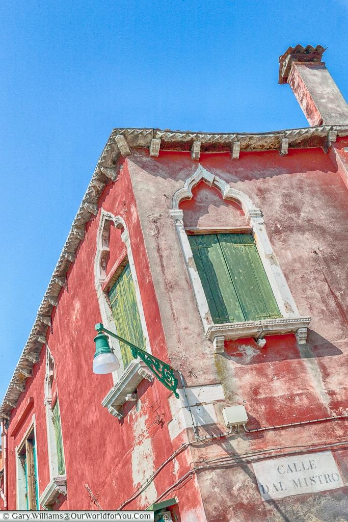Calle Dal Mistro, Murano, Venice, Italy