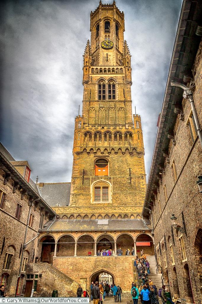 The Belfort, Bruges, Belgium