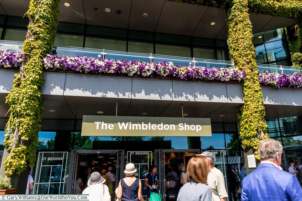 The Wimbledon Shop, Tennis, Wimbledon, London, England, UK